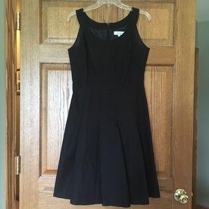 Cute Black Calvin Klein Dress (Heavy) 8